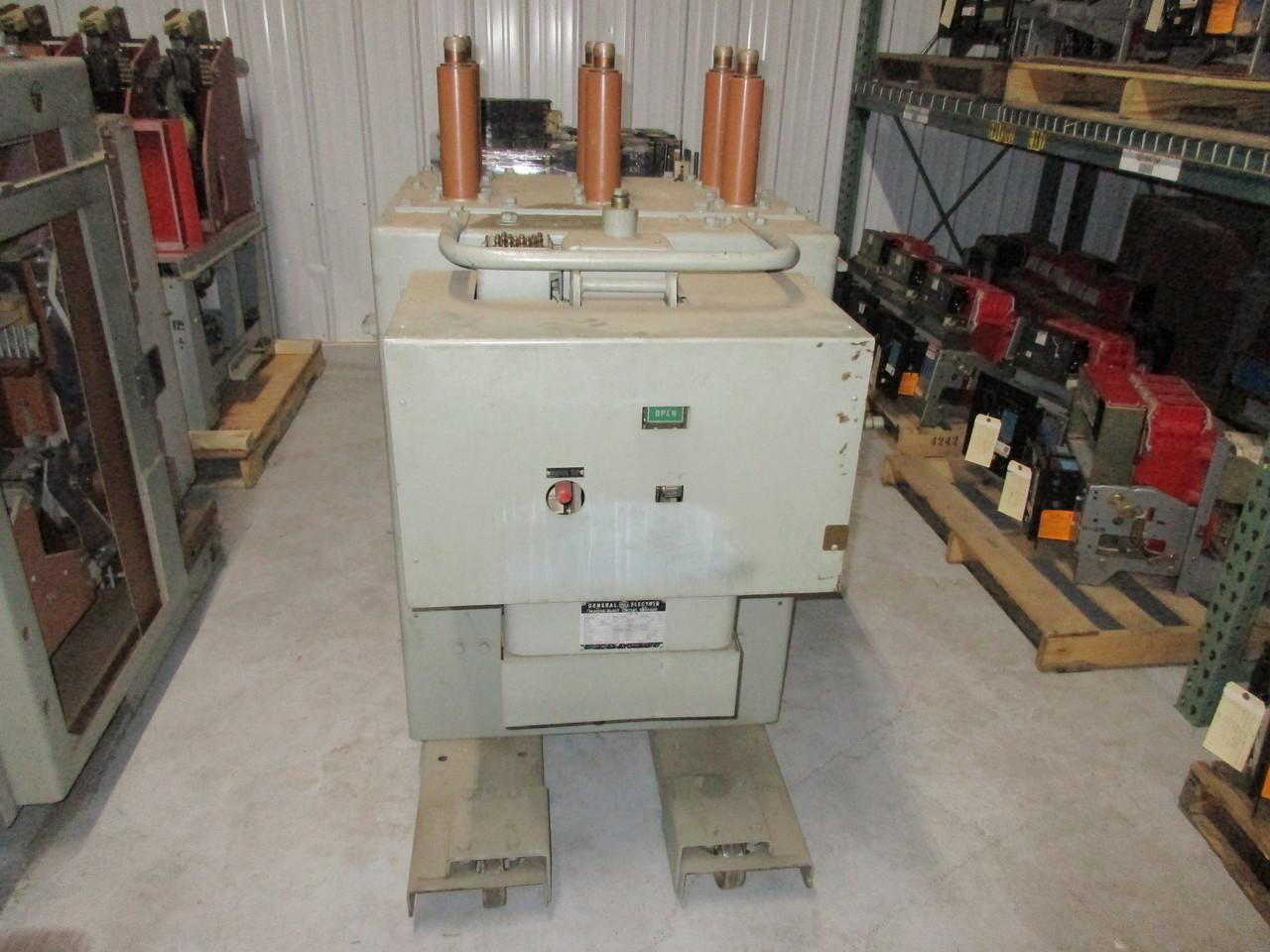 Ge Magnablast Circuit Breaker Wiring Diagram Search For Air Am 13 8 250 2 Magne Blast 1200a 15kv Rh Bullockbreakers Com Magna