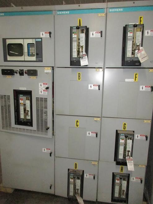 Siemens 480/277V Switchgear (#88)
