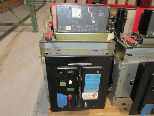 K-600 ITE Red 600A MO/DO LSI Air Circuit Breaker