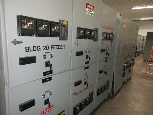 Square D 2-High Metal Clad Switchgear (#102)