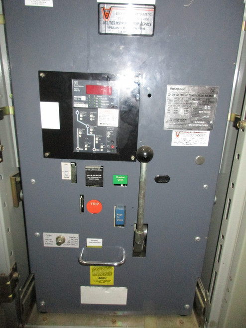 DS-632 Westinghouse 3200A EO/DO LSIG Air Circuit Breaker (In Structure)