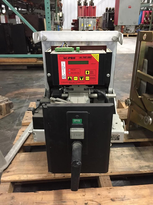 DB-25 Westinghouse 600A MO/DO LSIG Air Circuit Breaker W/AC-PRO
