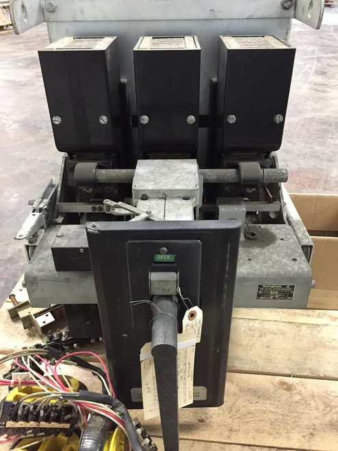 DBL-50 Westinghouse 1600A EO/DO Air Circuit Breaker (Parts Breaker)