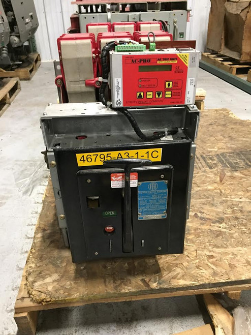 K-600 ITE Red 600A MO/DO LSIG Air Circuit Breaker W/AC-PRO