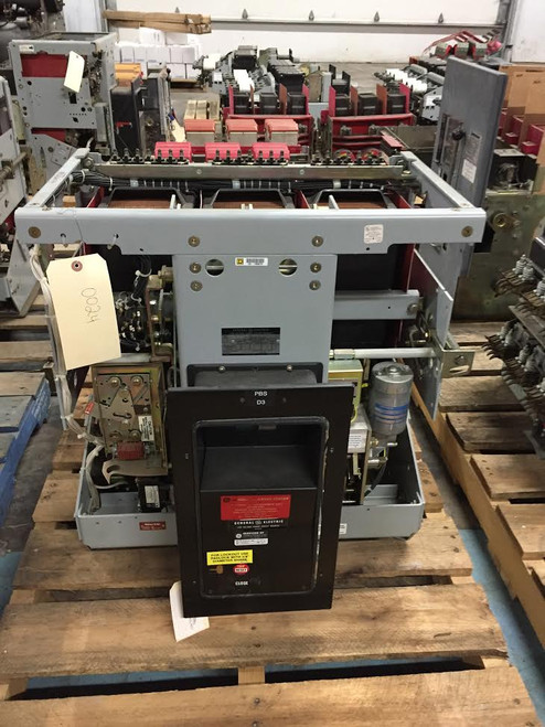 AKR-10F-100 GE 4000A EO/DO Air Circuit Breaker (No Trip)