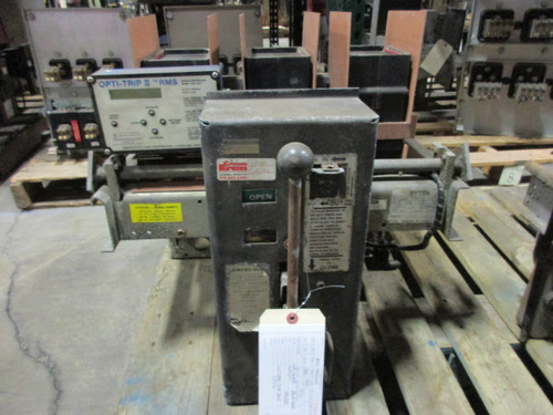 LA-1600B Allis-Chalmers 1600A MO/DO LSIG Air Circuit Breaker W/Black Front
