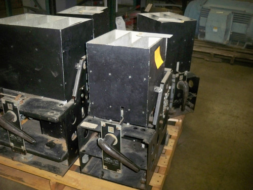 DMB-25 Federal Pacific 600A MO/DO Air Circuit Breaker