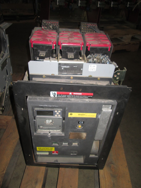 WPH-08 GE WavePro 800A EO/DO LSI Air Circuit Breaker