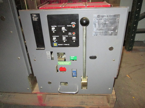 DS-416 Square D 1600A MO/DO LSI Air Circuit Breaker