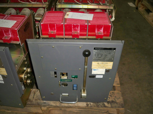 DS-416 Westinghouse 1600A MO/DO Air Circuit Breaker (No Trip Unit)