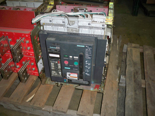 WLF2A320 Siemens 2000A MO/DO LSIG Insulated Case Circuit Breaker W/Cubicle
