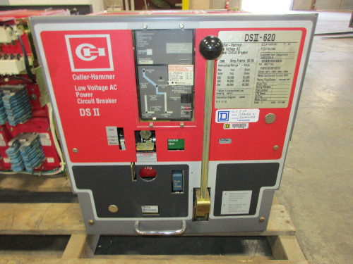 DSII-620 Cutler-Hammer 2000A MO/DO 1600A Cont. Current LSIG Air Circuit Breaker