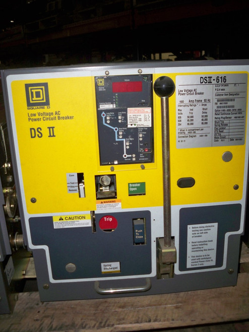 DSII-616 Square D 1600A MO/DO LS Air Circuit Breaker