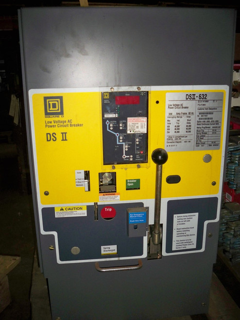 DSII-632 Square D 3200A EO/DO LS Air Circuit Breaker