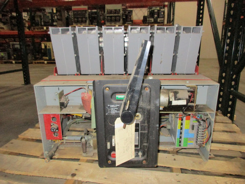 75H-3 Federal Pioneer 3200A EO/FM LSIG Air Circuit Breaker