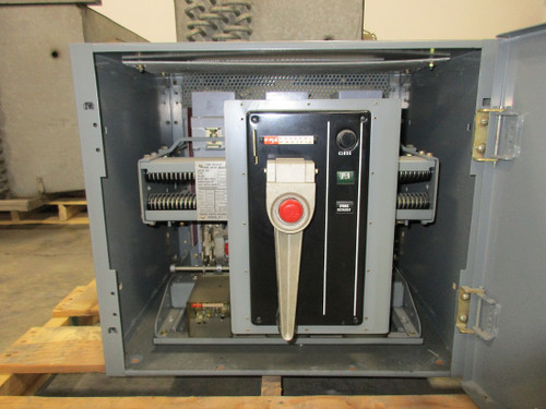 FP-50 Federal Pacific 1600A MO/FM LI Air Circuit Breaker W/Cubicle