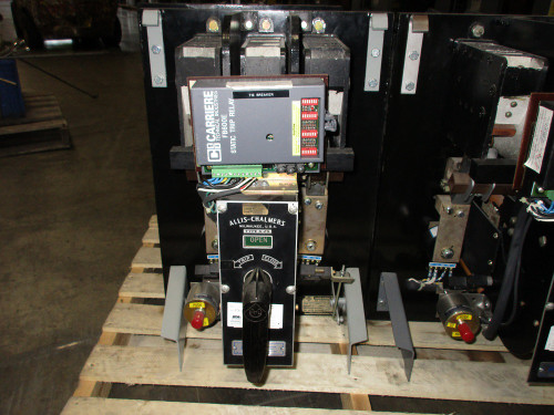 G-25 Allis-Chalmers 400A MO/DO LSIG Air Circuit Breaker