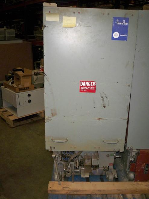 50 DHP 250 Westinghouse 1200A 5KV Air Circuit Breaker (Missing Part of Arc Sheild)