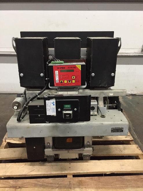 DB-75 Westinghouse 3000A EO/DO LSIG Air Circuit Breaker W/AC-PRO