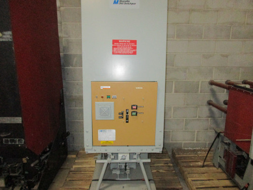 MC-500-13.8KV Retrofit to FG-1 Merlin-Gerin 1200A 15KV EO/DO Air Circuit Breaker