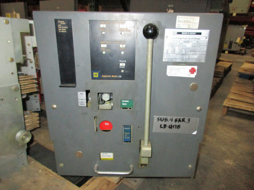 DS-416 Square D 1600A MO/DO 1200A Cont. Current LSG Air Circuit Breaker