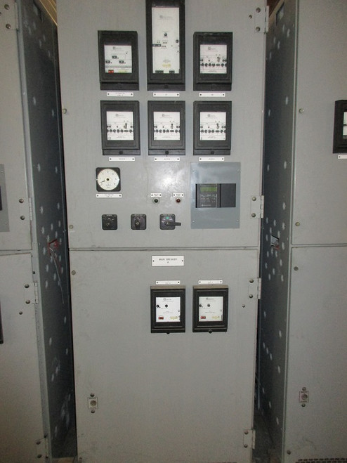 Square D Metal Clad Series 3 Switchgear Main A (#31)