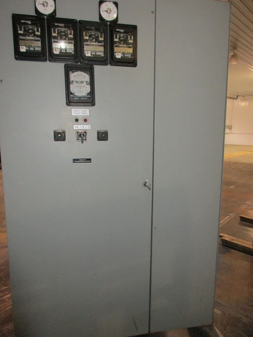 GE Magne-Blast Switchgear With 3320 KVA Transformer Feeder (#36)