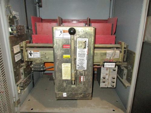 RL-4000 Siemens-Allis 4000A EO/DO LSG Air Circuit Breaker (In Structure)