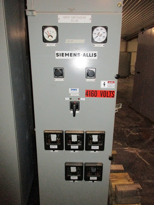 Siemens-Allis Type D Single Section Switchgear (#39)
