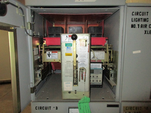 RLX-800 Siemens 800A MO/DO LSIG Air Circuit Breaker (In Structure)