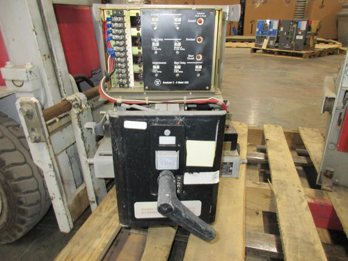 DBL-25 Westinghouse 600A MO/DO LSIG Air Circuit Breaker (No Fuses)
