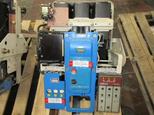 AKU-3A-25 GE 600A EO/DO 600A Fuses LSIG Air Circuit Breaker