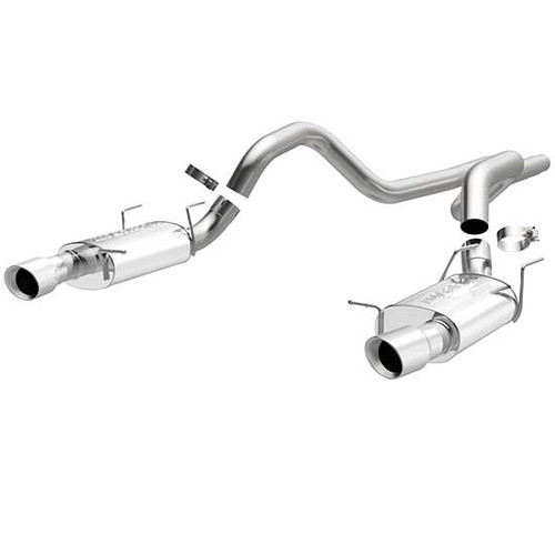 Magnaflow 15589_Ford Mustang GT/Shelby GT 500 Street Series Cat Back Performance Exhaust System