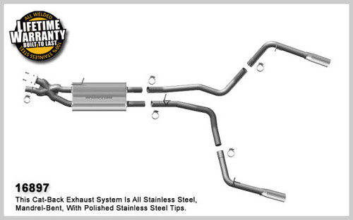 Land Rover Performance Exhaust System