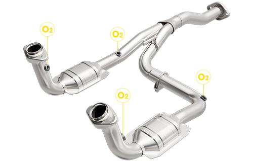 JEEP LIBERTY | 3.7L | RWD | Catalytic Converter-Direct Fit | California Legal | EO# D-193-120