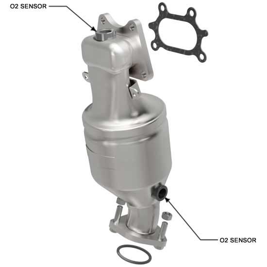 Magnaflow 51893 | ACURA TL/TSX/MDX/ZDX, HONDA ACCORD | 3.5L | Front | Catalytic Converter-Direct Fit | OEM Grade EPA