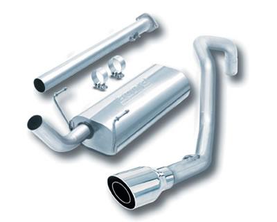 Borla 14659 | 1996-2002 Toyota 4Runner | 2.7L, 3.4L | Cat_back Stainless Exhaust System