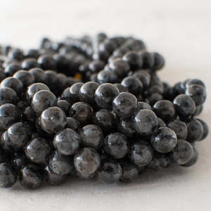 Larvikite Beads