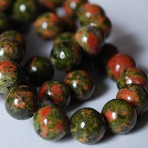 Unakite Beads