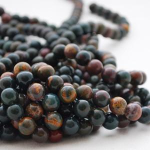 Bloodstone Beads
