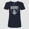 Womens BAMF logo (Blue/Gray)