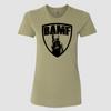 Womens BAMF logo (OD Green/Black)
