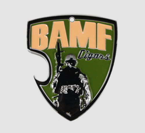 BAMF- BAD ASS CHALLENGE COIN/BOTTLE OPENER/KEYCHAIN
