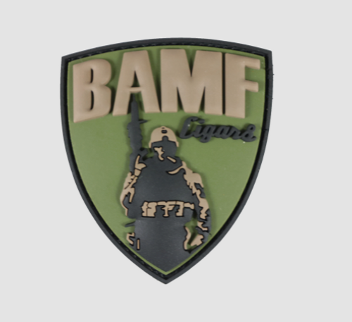BAMF PATCH- PVC (3D RUBBER)