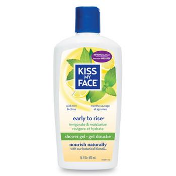 Kiss My Face, Early To Rise Shower & Bath Gel, 16 fl oz (473 ml)