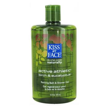 Kiss My Face, Active Athletic Shower & Bath Gel, 16 fl oz (473 ml)
