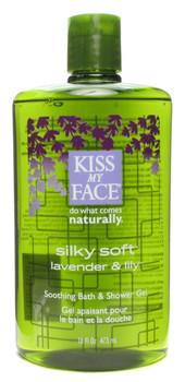 Kiss My Face, Silky Soft Shower & Bath Gel, 16 fl oz (473 ml)