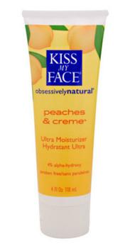 Kiss My Face, Peaches & Cr̬me Moisturizer, 4 fl oz (118 ml)