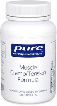 Pure-Muscle Cramp/Tension Formula, 60vegcaps