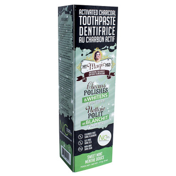My Magic Mud Activated Charcoal Toothpaste, Sweet Mint, 113g